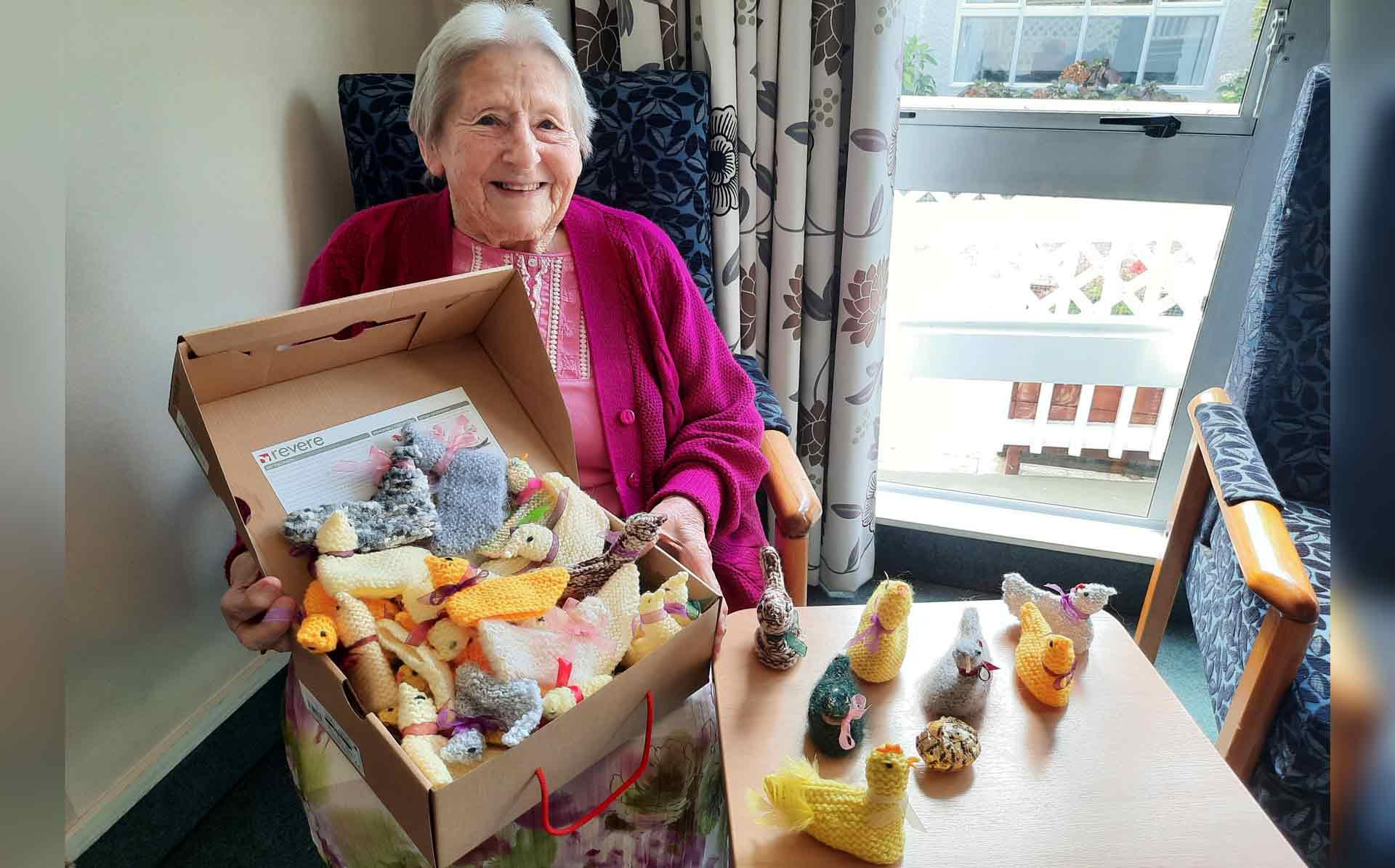 Iris helps Kandahar Home celebrate Easter