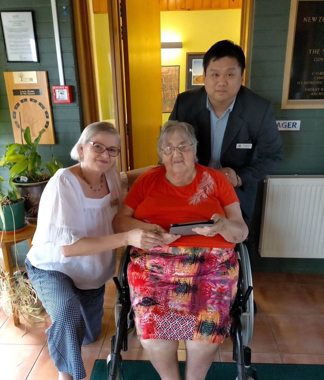 Enliven residents stay connected