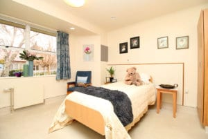 Bedroom at Brightwater Home