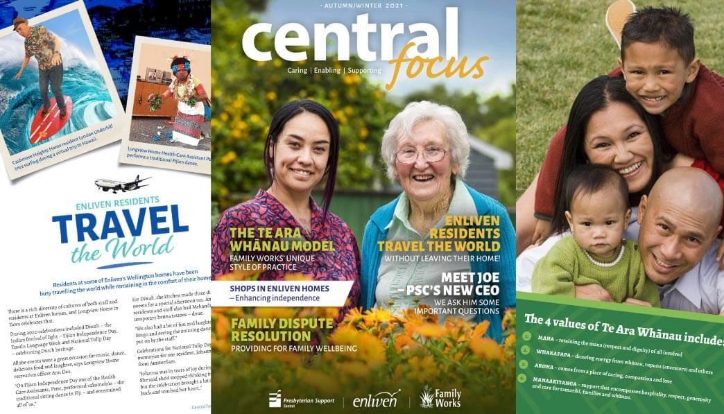 Central Focus Autumn/Winter 2021