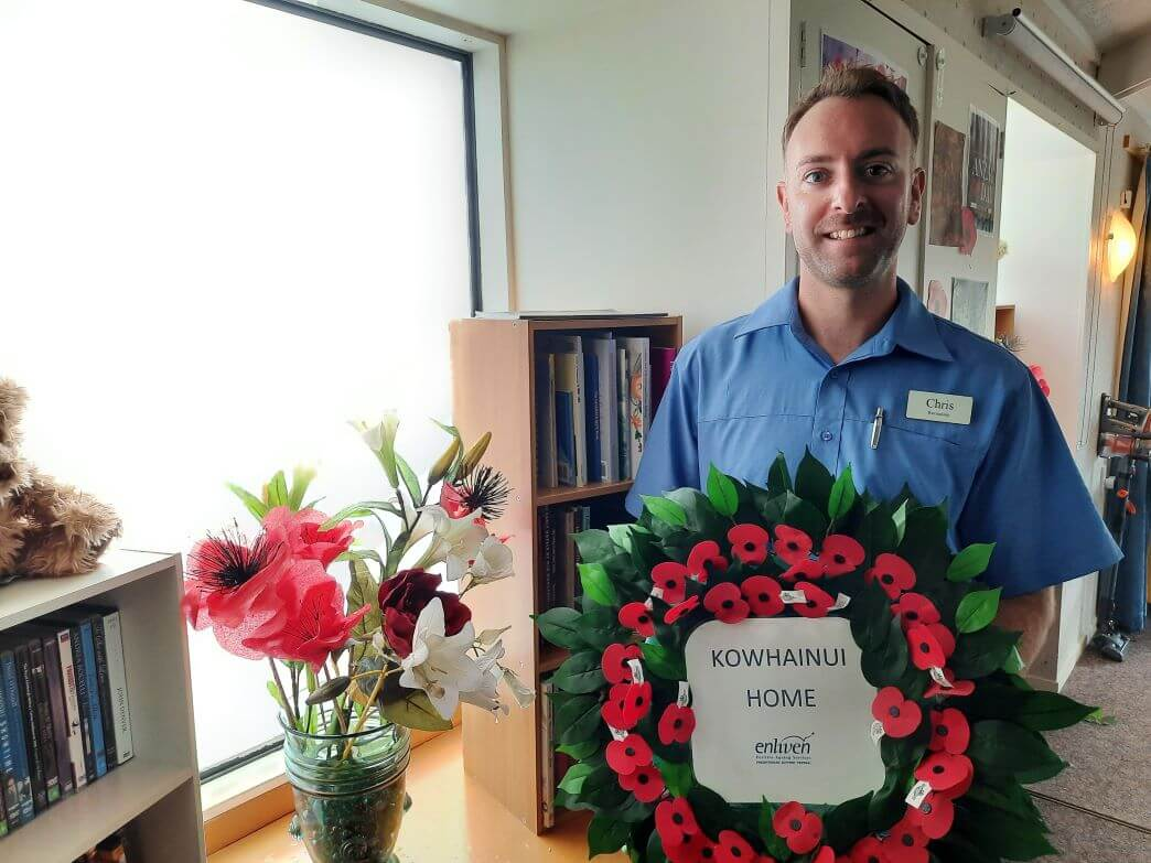 Kowhainui Home gets ready for ANZAC Day