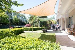 Kandahar Court gardens in sunny Masterton