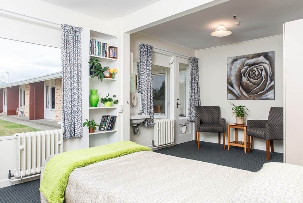 Spacious, bright bedrooms at Levin Home.