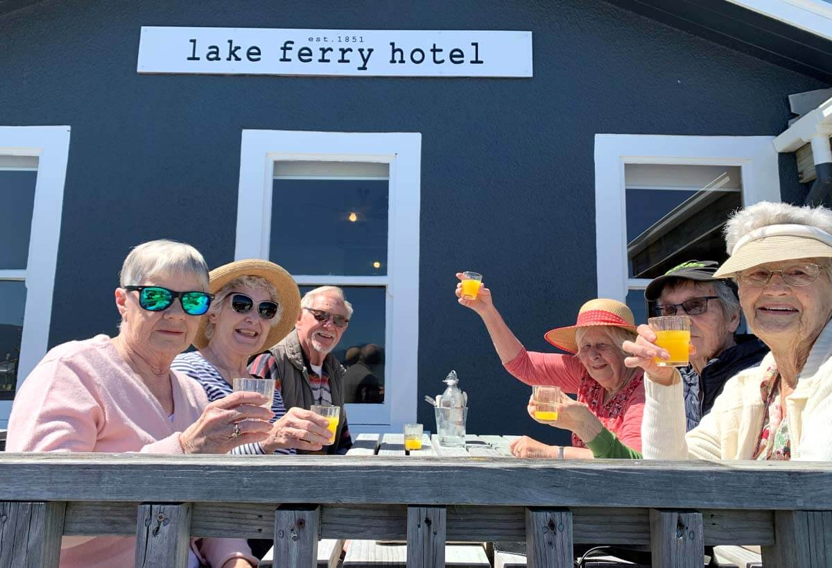 Kandahar Home residents enjoy trip to Lake Ferry