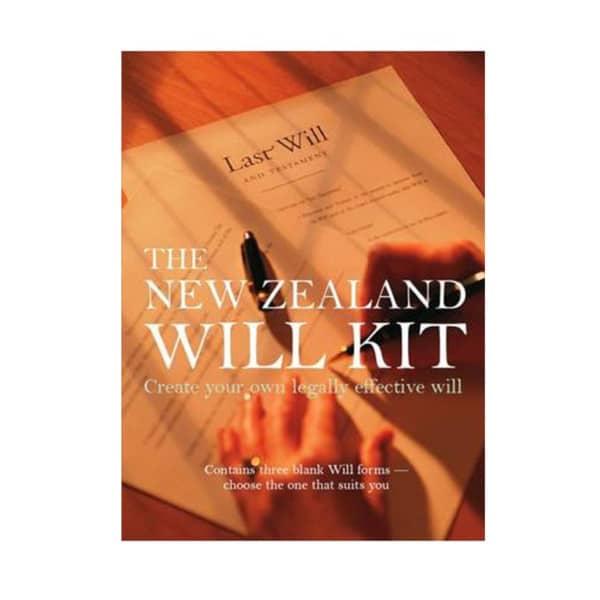 NZ Will Kit book